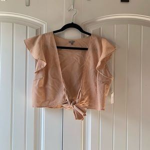 Frilly sleeve blouse